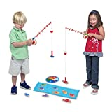 Catch And Count Magnetic Fishing Rod Game