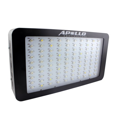 Apollo Horticulture Gl100Led Full Spectrum 300W Led Grow Light For Indoor Plant Growing