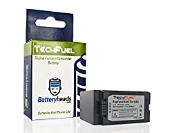 Panasonic VW-VBD55 Camcorder Replacement Battery - TechFuel Professional Li-ion Battery