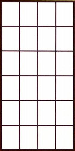 アサヒペン 超強プラスチック障子紙 94cm×4.3m 無地 6831