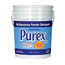 Dial 1468875 Professional Purex Mountain Breeze Multipurpose Powder Detergent, 15.6lbs Pail, 188 Load