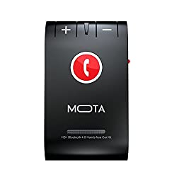 MOTA HD+ Bluetooth 4.0 Handsfree Car Kit for Multi Devices - Retail Packaging - Black