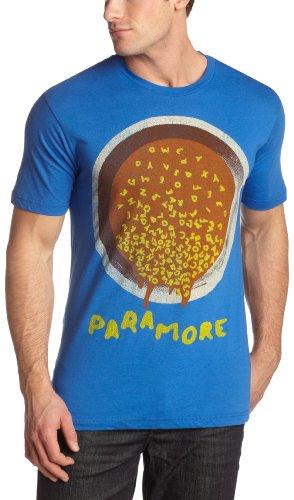 Old Glory Mens Paramore - ABC Soup Soft T-Shirt - Large Royal Blue