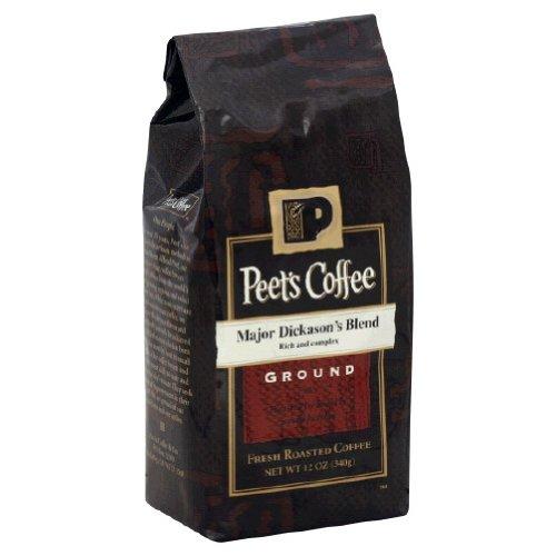 Peets Coffee, Coffee Ground Major Dcksn, 12-Ounce (6 Pack)