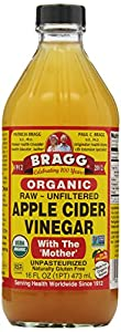 Bragg Apple Cider Vinegar, 16 Ounce (Pack of 2)