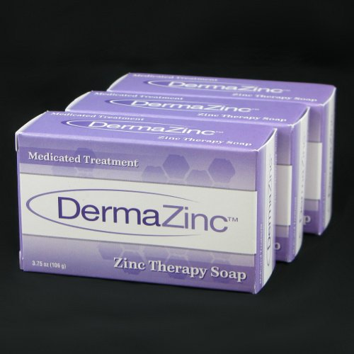 DermaZinc Zinc Therapy Soap 106g bar - 3 Pack - 1