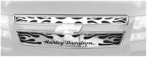 Putco 53358 Harley Davidson Mirror  Grille Insert