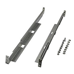 TRIPP LITE Universal Adjustable Rack Enclosure Server Cabinet Shelf Kit 4POSTRAILKIT1U