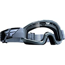 Fly Racing Focus Adult MX/Off-Road/Dirt Bike Motorcycle Goggles Eyewear - Grey/Clear / One Size