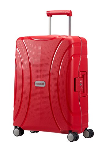 American Tourister Lock N Roll Bagage Cabine, 55 cm, 37 L, Energetic Red