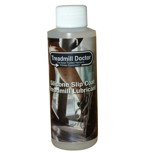 Treadmill Doctor Silicone Treadmill Belt Lubricant 8oz with FREE Belt Cleaner