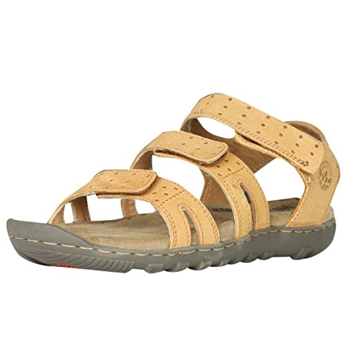 Woodland Men's Camel Leather Sandals - 9 UK/India (43 EU)  available at amazon for Rs.1977