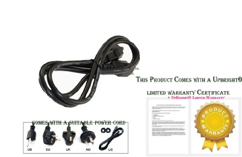 Upbright® New Ac Power Cable Plug Cord For Pioneer Sp-Sb23W Spsb23W Sound Bar Speaker System