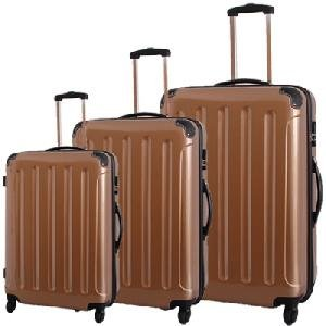 Polycarbonat Trolley Kofferset 3 teilig mit ABS