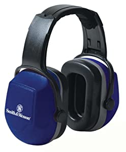 Jackson Safety 22613 Smith & Wesson Headband Recoil Earmuff for Extremely Noisy Environment, NRR 29