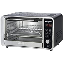 Waring TCO650 Professional Digital Toaster Oven (Black)