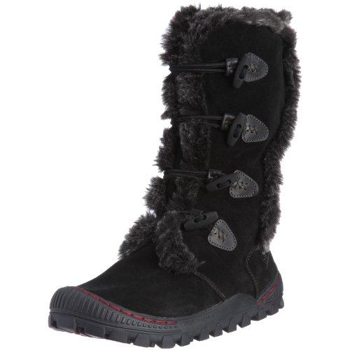 Women's Earth® Lodge 2 Side Zip Winter Boots, Black, 9 B(M) US