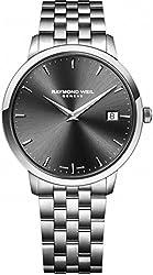 Raymond Weil Toccata Black Dial Stainless Steel Quartz Men's Watch 5588-ST-60001