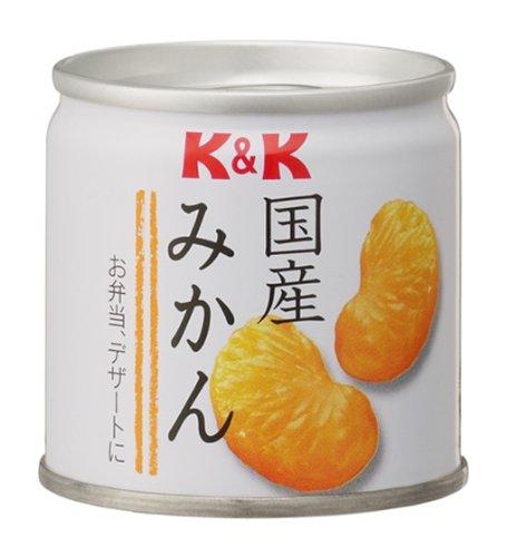 K&K 国産みかん缶 90g×6個