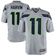 Percy Harvin Seattle Seahawks Gray Alternate NFL Youth NIKE Replica Jersey