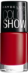 Maybelline Color Show Nail Enamel, Downtown Red
