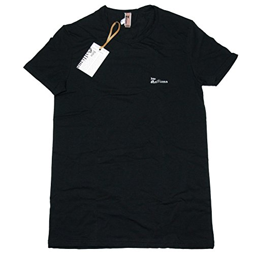 a0556-maglia-uomo-john-galliano-underwear-nero-t-shirt-men-large