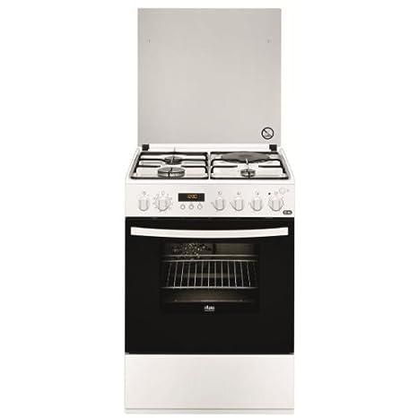 Faure FCM6560PWA cuisinière - fours et cuisinières (Autonome, Blanc, Electrique, Combiné, Convection, conventionnel, A)