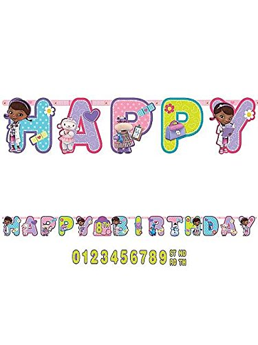 Doc McStuffins Birthday Banner 10 Ft. - 1