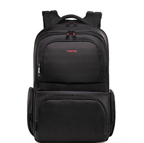 yacn-zaino-per-computer-portatile-in-nylon-3962-cm-156-da-viaggio-in-tela-nero