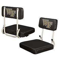 Buy NCAA Wake Forest Demon Deacons Hardback Stadium Seat by Logo Chairs Inc