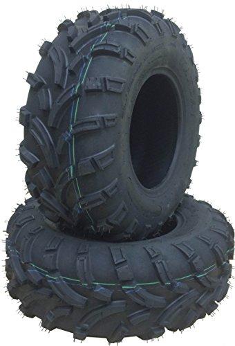 Set of 2 New WANDA ATV/UTV Tires 25x10-12 /6PR P373 - 10244 (Atv Rims And Mud Tires Set compare prices)