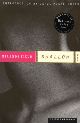 Swallow: Poems (Bakeless Prize)