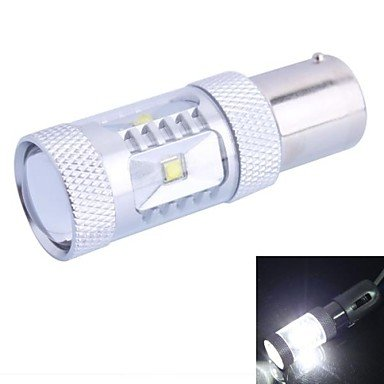 Zcl1156 / Ba15S / P21W 30W 600Lm White Led For Car Steering Light / Backup Light (Dc12-24V, 1Pcs)