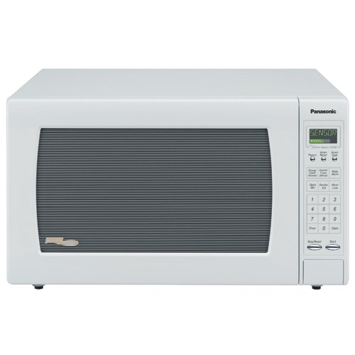 Panasonic NN-H965WF Genius 2.2 cuft 1250 Watt Sensor Microwave w/Inverter Technology,White (Burnt Toaster compare prices)