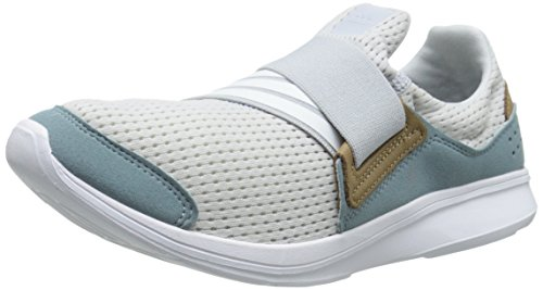 Adidas Performance Women's Lite Slip-On W Women's Running Shoe, Grey/White/Grey, 8.5 M US