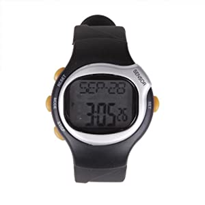 Buy HDE Fitness Sport Pulse Watch with Heart Rate Monitor and Calorie Counter Weightloss Help by HDE