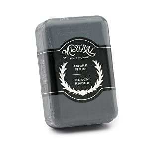Mistral for Men Black Amber Soap - Case of 12 Bars