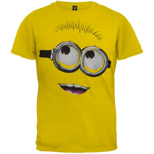 Headline Unisex-child Despicable Me 2 - Big Head Minion T-Shirt