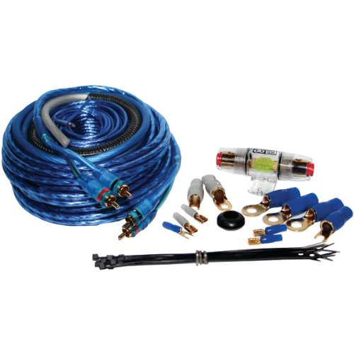 Db Link K8Manl 8-Gauge Competition Series Amplifier Installation Kit With Anl Fuse
