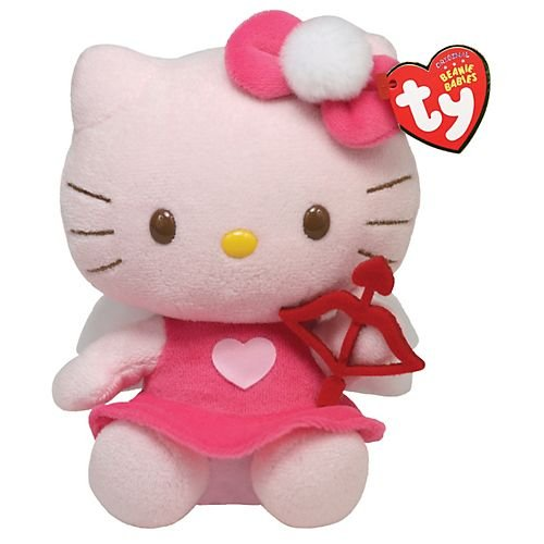 41Kv97CIeQL Ty Beanie Babies Hello Kitty with Bow and Arrow