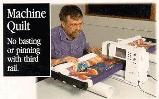 John Flynn's Portable Machine Quilting Multi Frame W/ 48