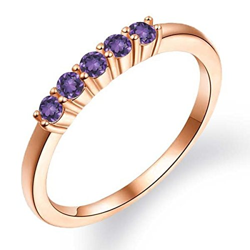 030-Ct-Round-Purple-Amethyst-18K-Rose-Gold-Plated-Silver-Ring