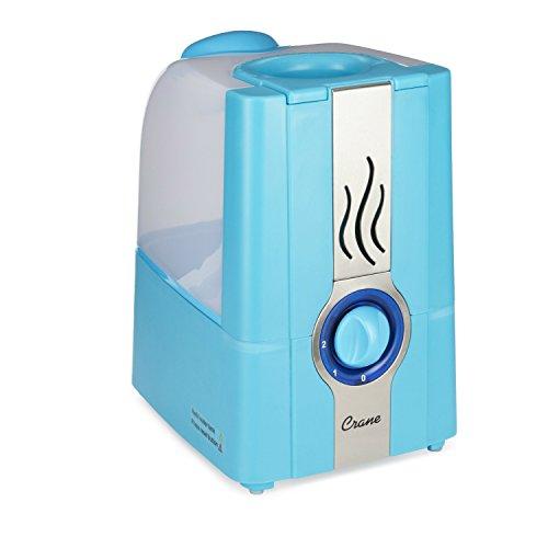 Crane Warm Mist Humidifier Aqua - 1