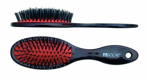 Small Oval Cushion Brush, SHE by SOCAP.USA, Made in Italy (Socap Hair Brush compare prices)
