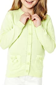 Autograph Pure Cotton Bow Pocket Cardigan with Stay New [T77-4978A-Z]