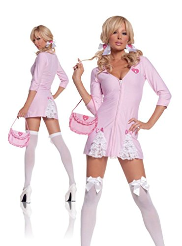 Elegant Moments Womens Cute Kandi Striper Party Outfit Fancy Dress Sexy Costume