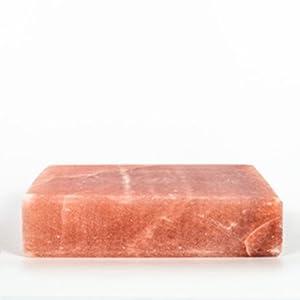 Salt, Himalayan Pink Slab 8x8 Square, appx 8.1 lbs ea