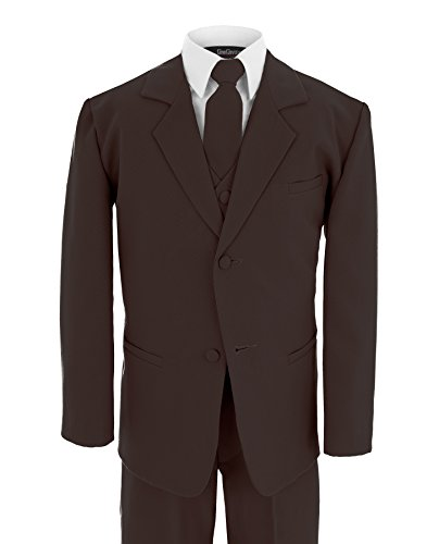 Gino Giovanni Formal Boy Brown Suit From Baby to Teen