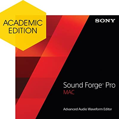 Sony Sound Forge Pro Mac 2 - Academic [Download]
