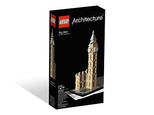 21013 Lego Big Ben Architecture Age 12+ / 346 Pieces / New 2015 Release! Picture